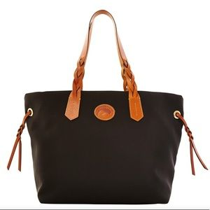 DOONEY & BOURKE Black Nylon Tote/Shopper Bag NWT